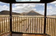Balustrade du train Andean Explorer