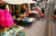 Marché de la gare ferroviaire de Cusco