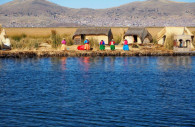 Ile flottante, Lac Titicaca