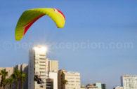 Parapente, Costa Verde de Lima