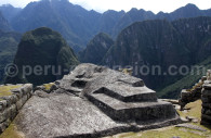 Rocher funéraire Machu Picchu