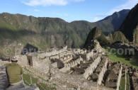 Le secteur urbain du Machu Picchu