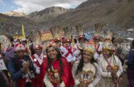Procession au sanctuaire du Seigneur de Qoyllurit'i