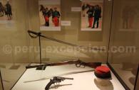 Armes péruviennes de l'indépendance, MNAAP Lima