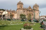 Cathédrale et place d'Armes de Cuzco