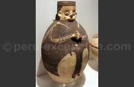 Céramique bicolore chancay, Musée Inka de Cuzco