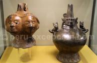 Céramique sculptée, Lambayeque de Tucume