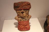 Céramique vêtue chancay, Musée Inka de Cuzco