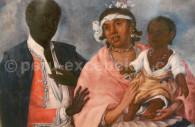 Races péruviennes, pour le vice roi Amat, XVIIIe, Museo de LIMA