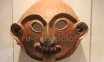 Masque cérémoniaire en céramique vicús, Museo MAP Cuzco
