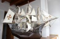 Maquette de caravelle, Tumbes