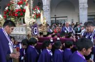 Procession religieuse à Arequipa