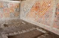 Reliefs polychromés Huaca El Brujo