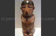 Femme maquillée, céramique nazca, Museo MAP Cuzco