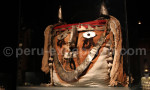 Tête de fardeau funéraire chancay, musée Larco