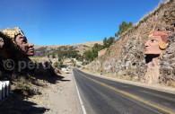 Têtes en pierre de Chucuito