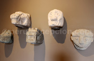 Têtes clous Chavín de Huantar, Museo Larco, Lima