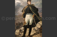 Traversée des Andes par José de San Martín, début 1817, MNAAP Lima