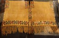 Tunique nasca, Musée archéo Jenkins, Ica