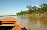 Navigation en Amazonie