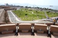 Vue depuis la forteresse du roi Felipe