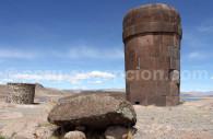 Chullpa inca de Sillustani, région de Puno