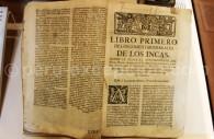 Commentaires royaux de l'Inca, Garcilaso de la Vega, XVIIIe, MAAP de Lima