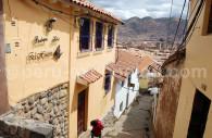 Cuzco, rue Pasñapacana, quartier San Blas