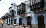 Façade coloniale à Lima