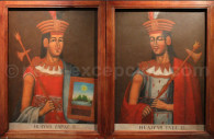 Huayna Capac y Huascar Inca