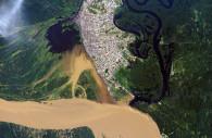 Iquitos vue de satellite, Licence CC