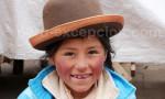 Une jeune péruvienne