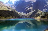 Lac Uspaccocha du sanctuaire d'Ampay