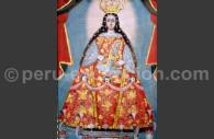 Notre dame de Bethléem, école cuzquénienne XVIIe, musée de la cathédrale de Lima