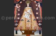 Nuestra Señora de Belén, pintura anónima XVIIe, Escuela Cuzqueña