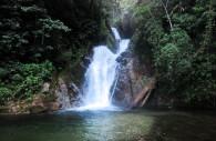 Cascade du parc de Pampa Hermosa