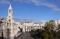 Place d'Armes et cathédrale d'Arequipa