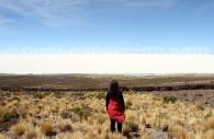 Salar d'Uyuni depuis le volcan Tunupa