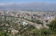 Santiago depuis le Cerro San Cristobal