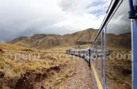 Train de Cuzco à Puno