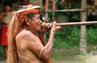 Un membre de la tribu Yahua