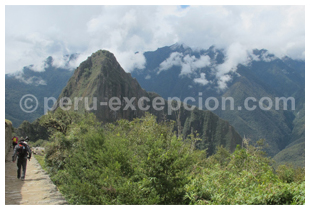 Trek en direction du Machu Picchu