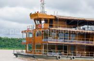 Croisière en Amazonie : le bateau Delfin I