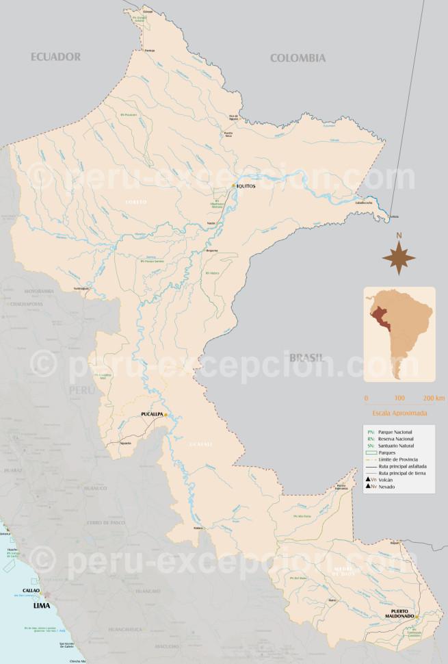 L'Amazonie péruvienne