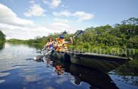 Kayak en Amazonie, Pérou