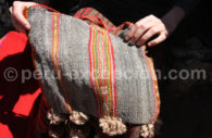 Besace en laine