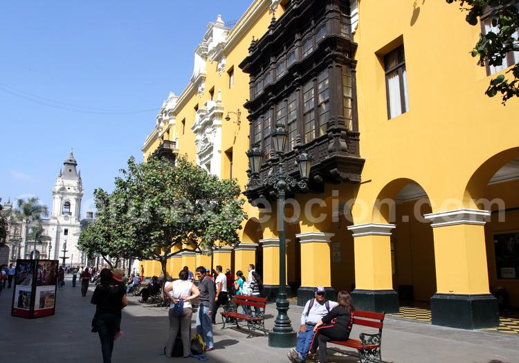 Architecture péruvienne, centre historique de Lima