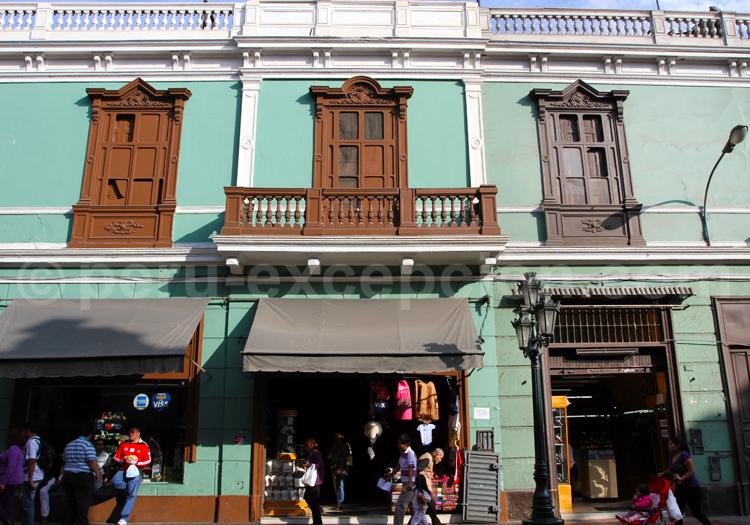 Style colonial espagnol, Lima, Pérou