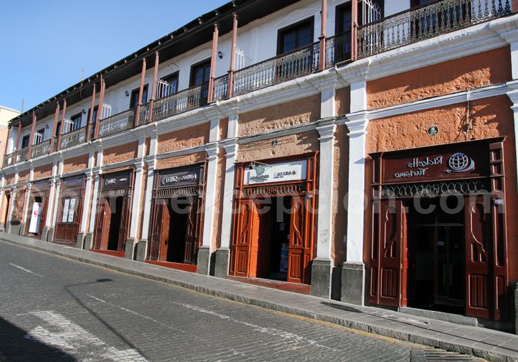 Façade d'Arequipa, Pérou