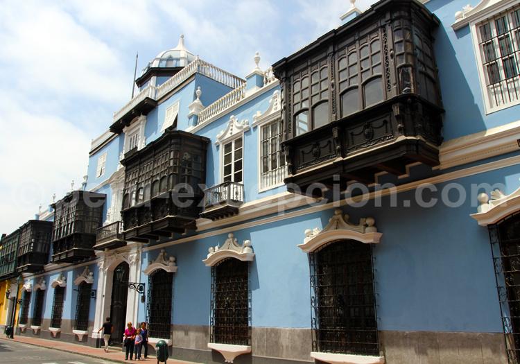 L'architecture coloniale à Lima